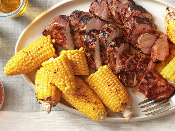 FNM-060112_Light-Grilled-Pork-Tenderloin-with-Corn-on-the-Cob_s4x3_jpg_rend_sni18col