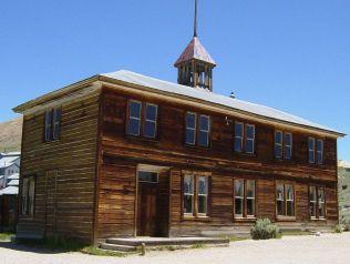 School House in Bodie, CA. Photo: Daniel Mayer CC BY-SA 3.0