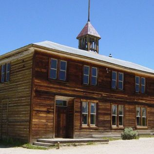 School House in Bodie, CA. Photo: Daniel Mayer CC BY-SA 3.0