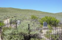 Bodie cemetery1 CC Photo: Daniel Mayer BY-SA 3.0