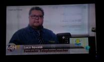 Lucca Movaldi fundador y creador del sistema telephoneteacher clases de inglés e idiomas por teléfono y skype con profesores nativos habla de haber alcanzado una meta. Poner en contacto a estudiantes y profesores de todo el mundo para aprender un idioma o asignatura nueva.