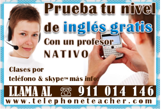 Es tiempo que hables con un profesor nativo