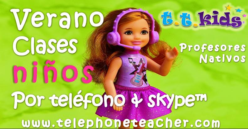¿Funcionan clases por skype™ para niños?