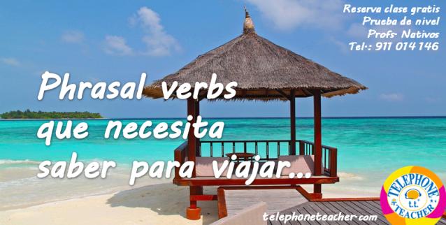 phrasal verbs para viajar