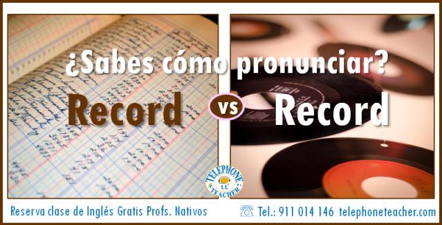 record vs record
