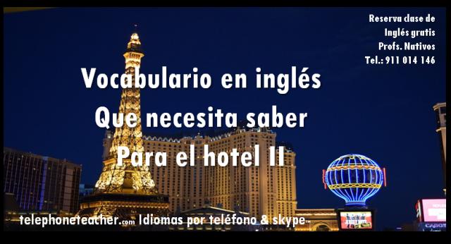 vocab. hotel 2