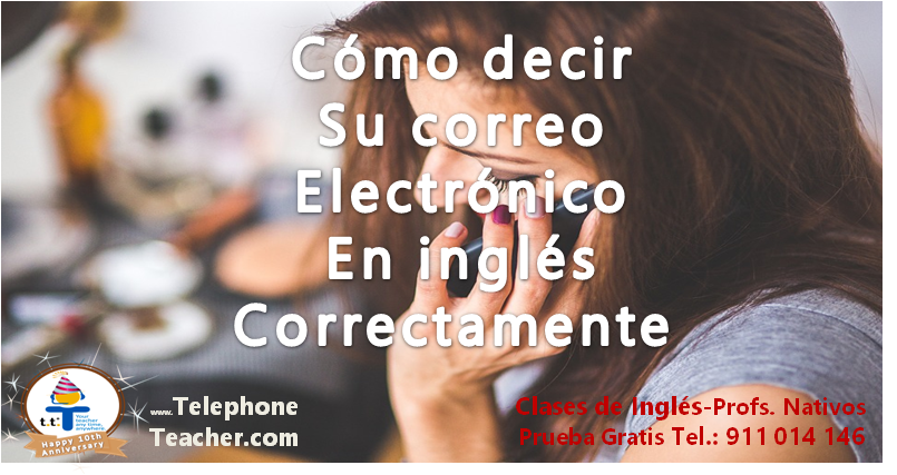 Cómo decir tu email correctamente en inglés: