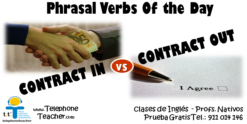 Phrasal Verbs Of The Day Aprendiendo Frases Hechas Blog