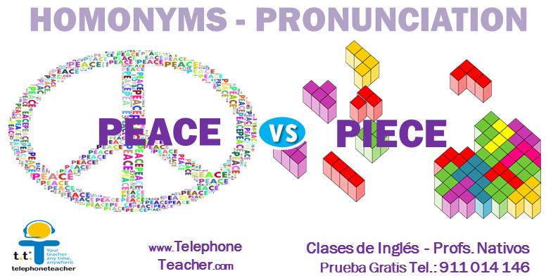Diferente significado misma pronunciación