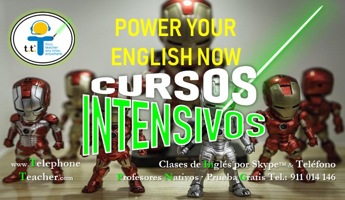 Aprenda a hablar inglés antes que su jefe – Cursos Intensivos