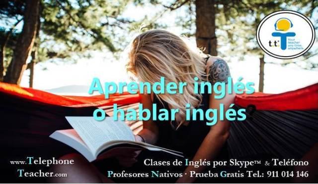 aprender inglés o hablarlo