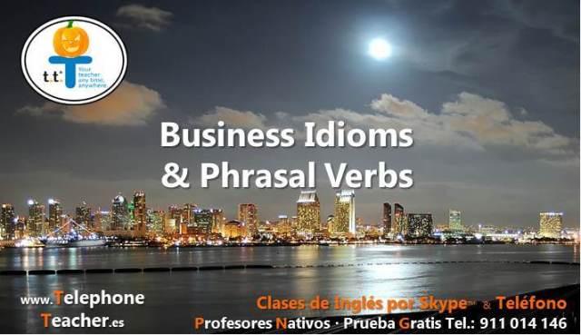 business english idioms phrasal verbs