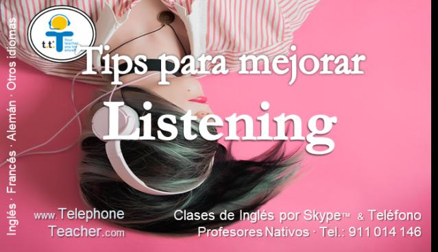 tips para mejorar listening
