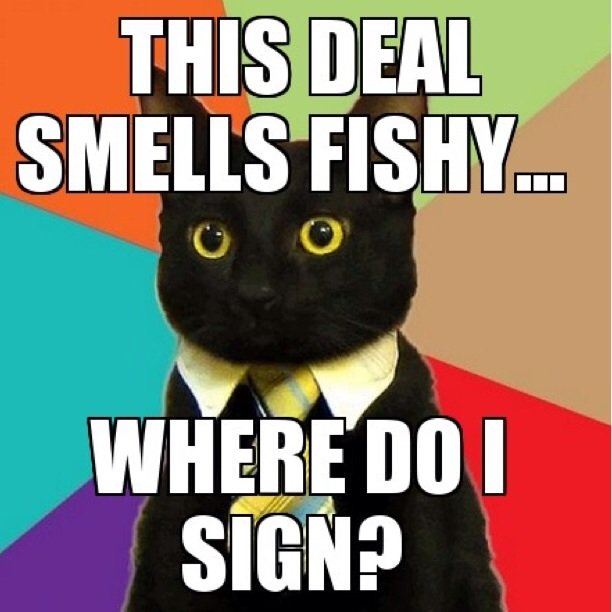 Qué significa: Smell Fishy….