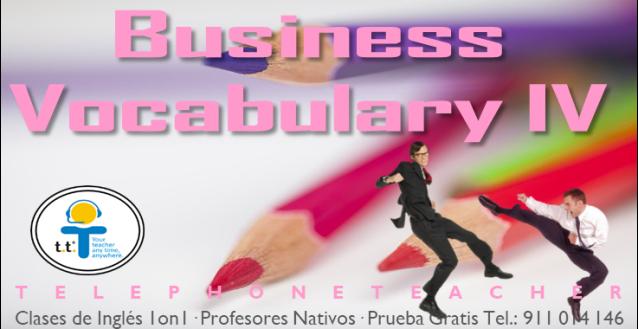 business vocabulary 4